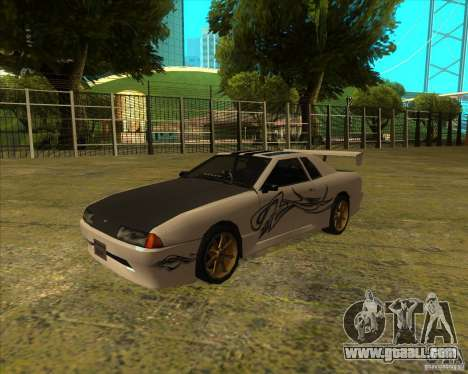 Pak vinyls for standard Elegy for GTA San Andreas right view