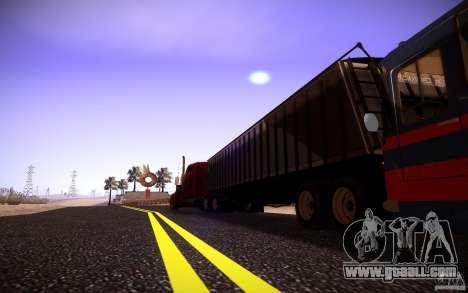Dumper Trailer for GTA San Andreas right view