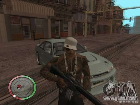 GTA IV HUD v4 by shama123 for GTA San Andreas second screenshot