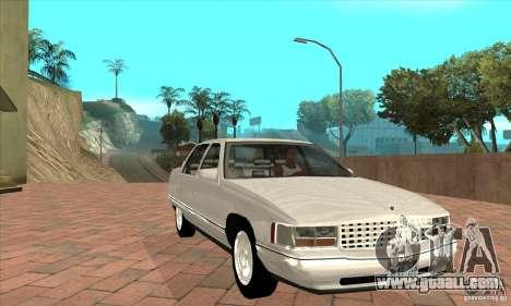 Cadillac Deville v2.0 1994 for GTA San Andreas back view