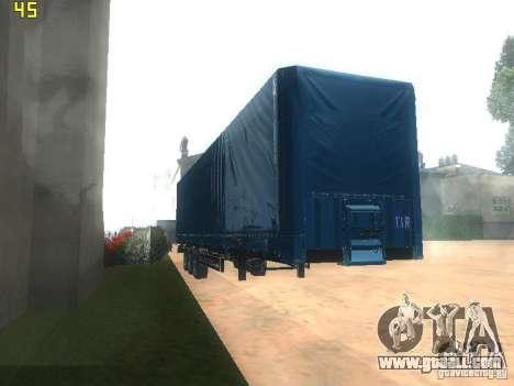 Nefaz-93341 trailer-10-07 for GTA San Andreas back view