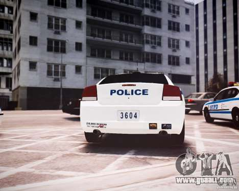 Dodge Charger 2010 NYPD ELS for GTA 4 right view