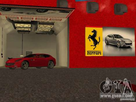 New Ferrari Showroom in San Fierro for GTA San Andreas eighth screenshot