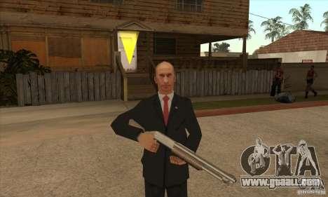 Vladimir Vladimirovich Putin for GTA San Andreas fifth screenshot