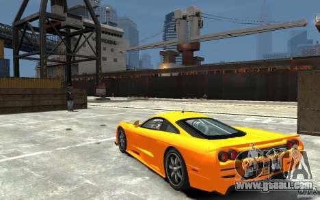 Saleen S7 for GTA 4 back left view