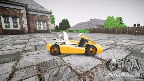 Karting for GTA 4 left view