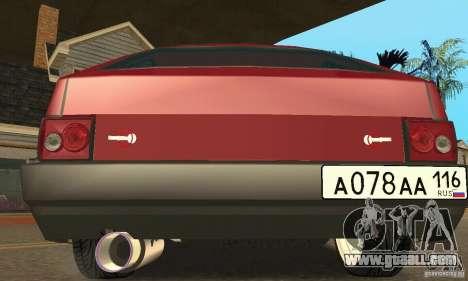 VAZ 2108 Maxi for GTA San Andreas back left view