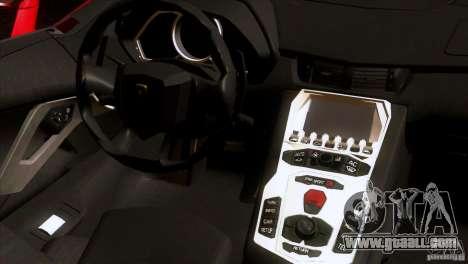 Lamborghini Aventador LP-700 J for GTA San Andreas side view