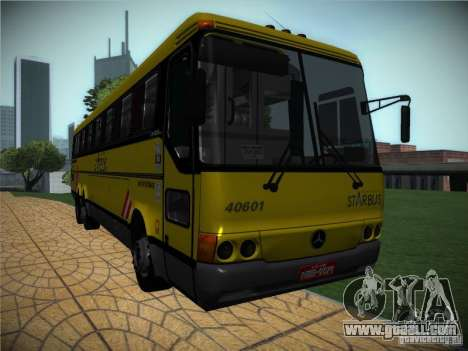 Mercedes Benz O400 Monobloco for GTA San Andreas left view