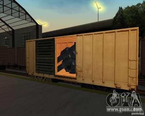 New railway station for GTA San Andreas seventh screenshot