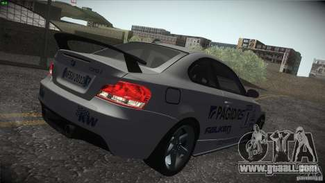 BMW 135i Coupe Road Edition for GTA San Andreas wheels