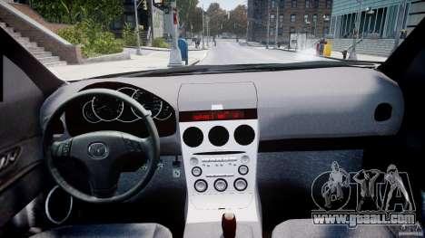 Mazda 3 2004 for GTA 4 right view