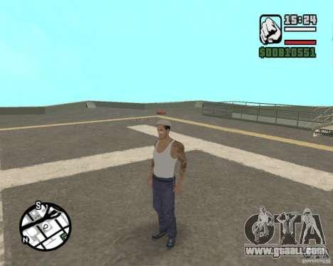 Cj Gopnik for GTA San Andreas fifth screenshot