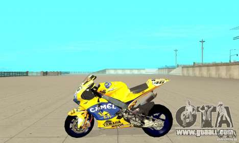 Honda Valentino Rossi Bf400 for GTA San Andreas left view