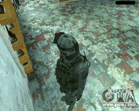 Skin infantryman CoD MW 2 for GTA San Andreas sixth screenshot