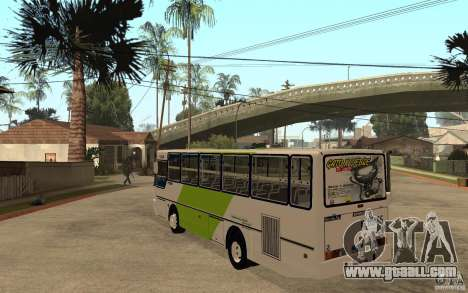 Ciferal GLS OH1420 Transantiago for GTA San Andreas back left view