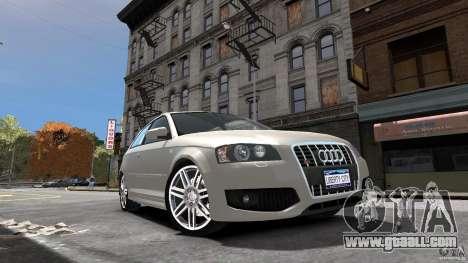 Audi S3 2006 v1.1 is not tonirovanaâ for GTA 4