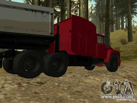 ZIL 130 Tractor for GTA San Andreas back left view