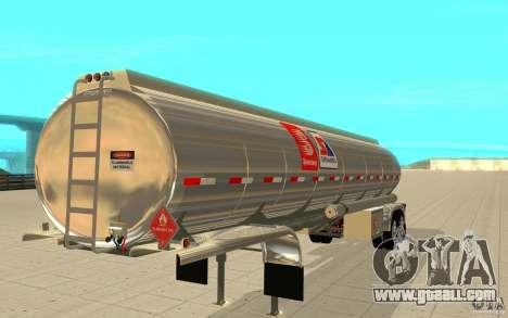 Semi Petrotr for GTA San Andreas left view