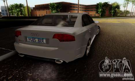 Audi RS4 2007 for GTA San Andreas left view