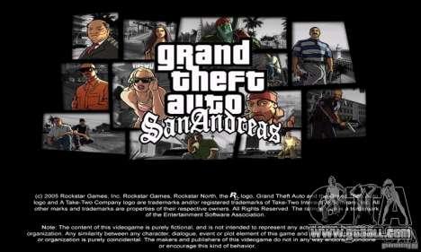Loadscreens in GTA-IV Style for GTA San Andreas forth screenshot