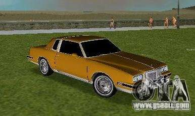 Pontiac Grand Prix for GTA Vice City back left view
