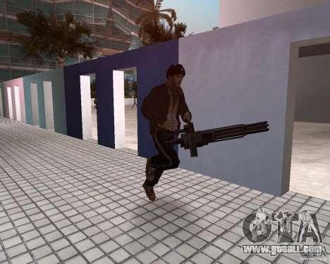 Niko Bellic in ear flaps for GTA Vice City fifth screenshot