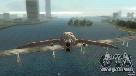 The Valley Gunship for GTA Vice City left view