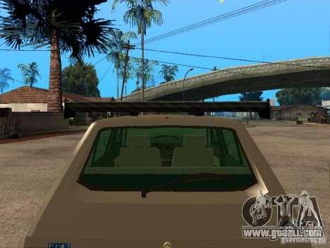 Fiat Ritmo for GTA San Andreas interior