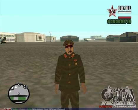 Stalin for GTA San Andreas second screenshot