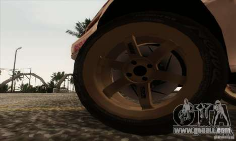 Toyota Corolla AE86 for GTA San Andreas back view