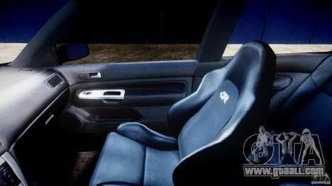 Volkswagen Golf IV R32 v2.0 for GTA 4 inner view