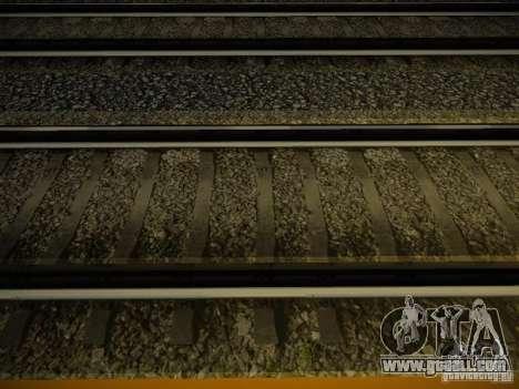 New Rails for GTA San Andreas second screenshot