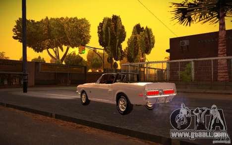 ENBSeries v1.0 By GAZelist for GTA San Andreas fifth screenshot