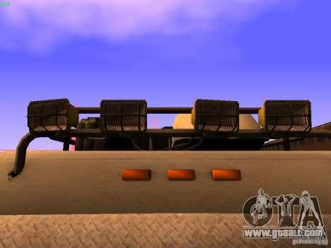 Monster Van for GTA San Andreas upper view