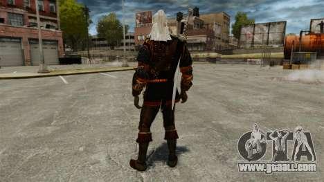 Geralt of Rivia v4 for GTA 4 third screenshot