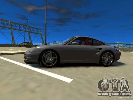 Porsche 997 Turbo for GTA 4 left view