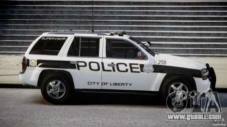 Chevrolet Trailblazer Police V1.5PD [ELS] for GTA 4 inner view