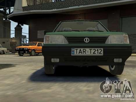 FSO Polonez for GTA 4 upper view