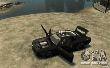 Dodge Challenger Concept Slipknot Edition for GTA 4 left view