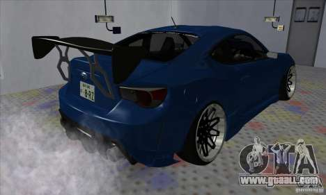 Subaru BRZ JDM for GTA San Andreas right view