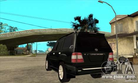 Toyota Land Cruiser 100vx v2.1 for GTA San Andreas right view