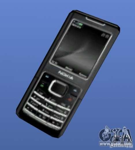 Mobile phone Nokia 6500 for GTA 4