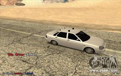 Lada Priora Final Tuning for GTA San Andreas