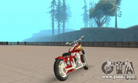 Orange County old school chopper Sunshine for GTA San Andreas