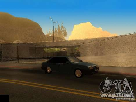ENB project by jeka for GTA San Andreas second screenshot