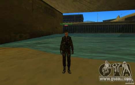 HQ skin Army for GTA San Andreas third screenshot