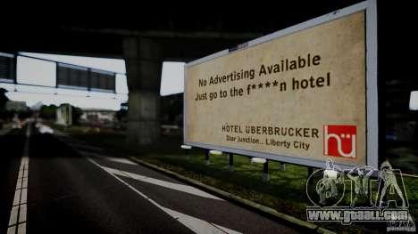 Realistic Airport Billboard for GTA 4 forth screenshot