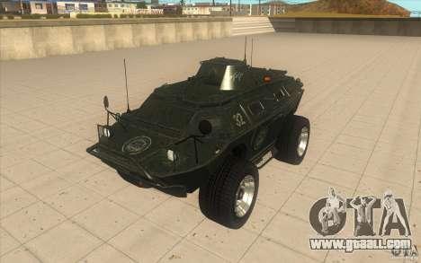 APCS of the GTA 4 TBOGT Original With Texture for GTA San Andreas