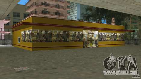 Shell Station for GTA Vice City forth screenshot